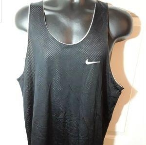 Nike Vintage 90s Reversible Mesh XL Bkack Jersey